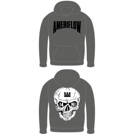 Ameriflow 13 Skulls Hoodie